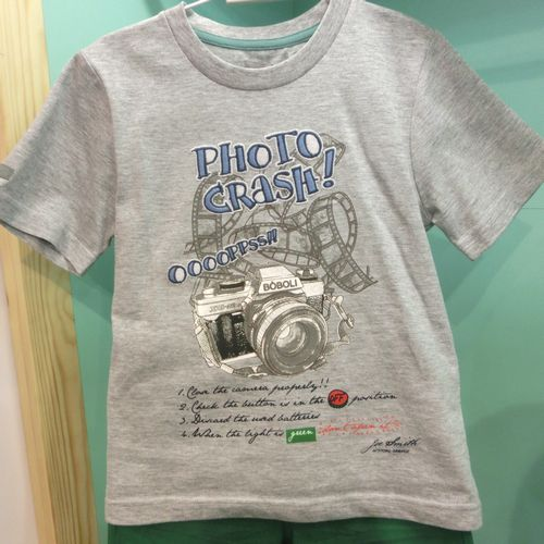 PHOTO CRASH・Tシャツ